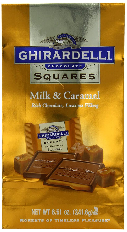 Amazon.com : Ghirardelli Chocolate Squares, Milk Chocolate with ...