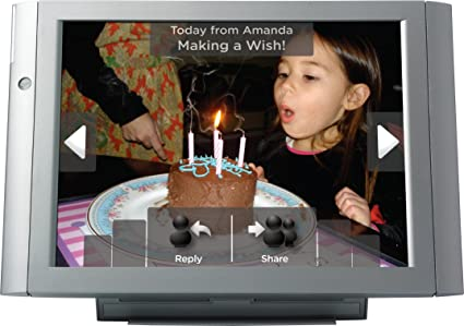 Amazon.com : Vizit 10.4-Inch Digital Photo Frame with Cellular ...