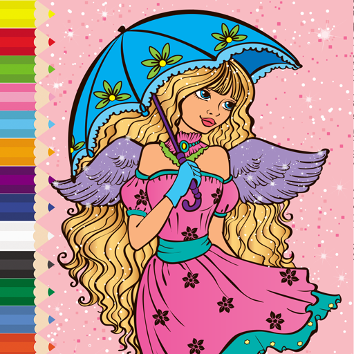 Coloring Rainbow - Coloring Book Kids and Adults