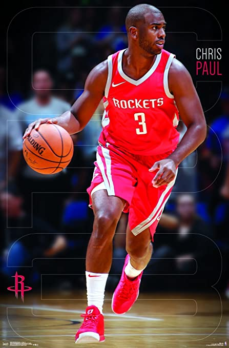 b57566209a5 Amazon.com: Trends International Houston Rockets - Chris Paul Wall Poster,  22.375