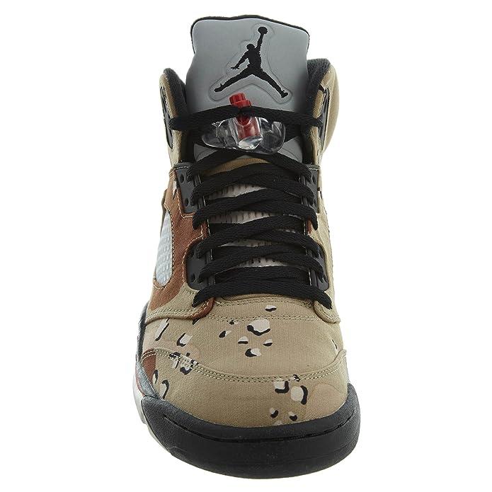 sale retailer 4c96d f4897 Nike Herren Air Jordan 5 Retro Supreme Turnschuhe  Amazon.de  Schuhe    Handtaschen