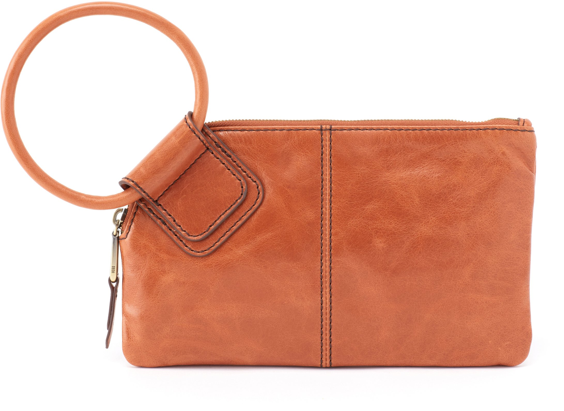 Hobo Women's Leather Sable Wristlet Clutch Wallet (Clay)