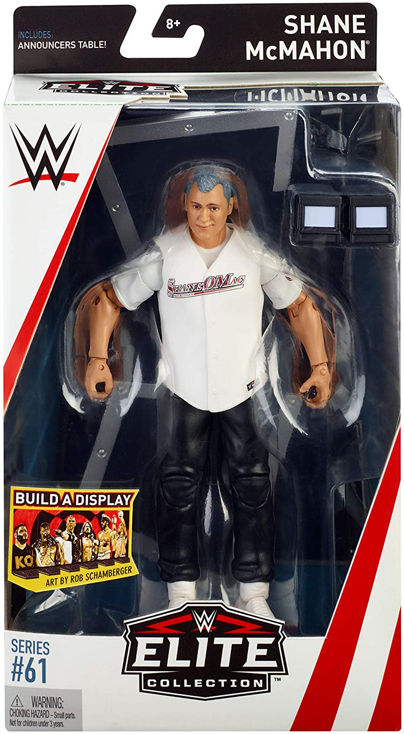 WWE Mattel Shane McMahon Elite Series #61 Figure loose