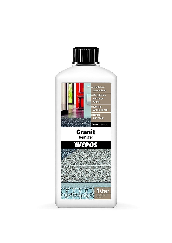 Wepos 2000201050 Granit Reiniger 1 Liter Amazon De Baumarkt