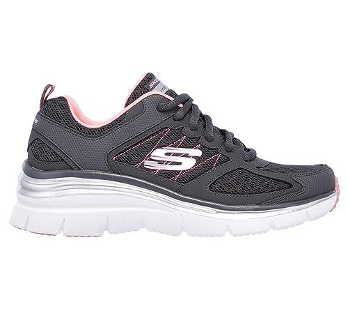 Skechers Sneakers Not Afraid Grigio Rosa 12713 CCCL