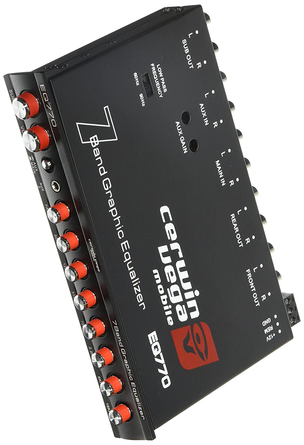 CERWIN VEGA EQ-770 7-Band Parametric E with Auxiliary Input