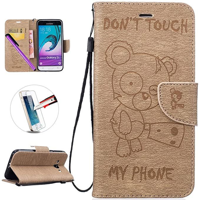cover samsung galaxy j3 2016 don't touch my phone