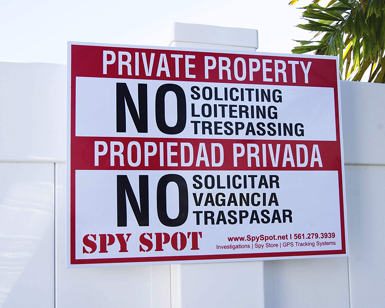 Private Property No Trespassing Loitering Metal Sign Or Decal 7 SIZES SP005
