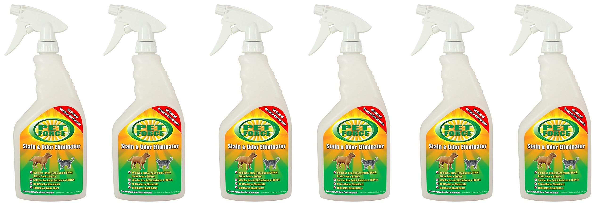 Valterra ® V33005 'Pet Force' Pet Stain and Odor Eliminator - 32 oz. Spray Bottle (6)