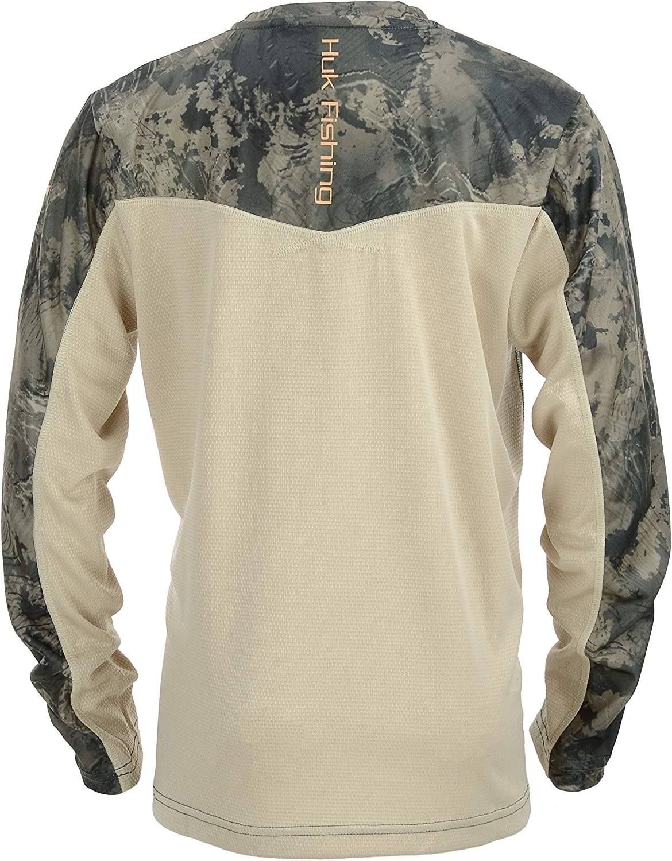 HUK Youth Icon X Camo Long Sleeve Shirt SubPhantis