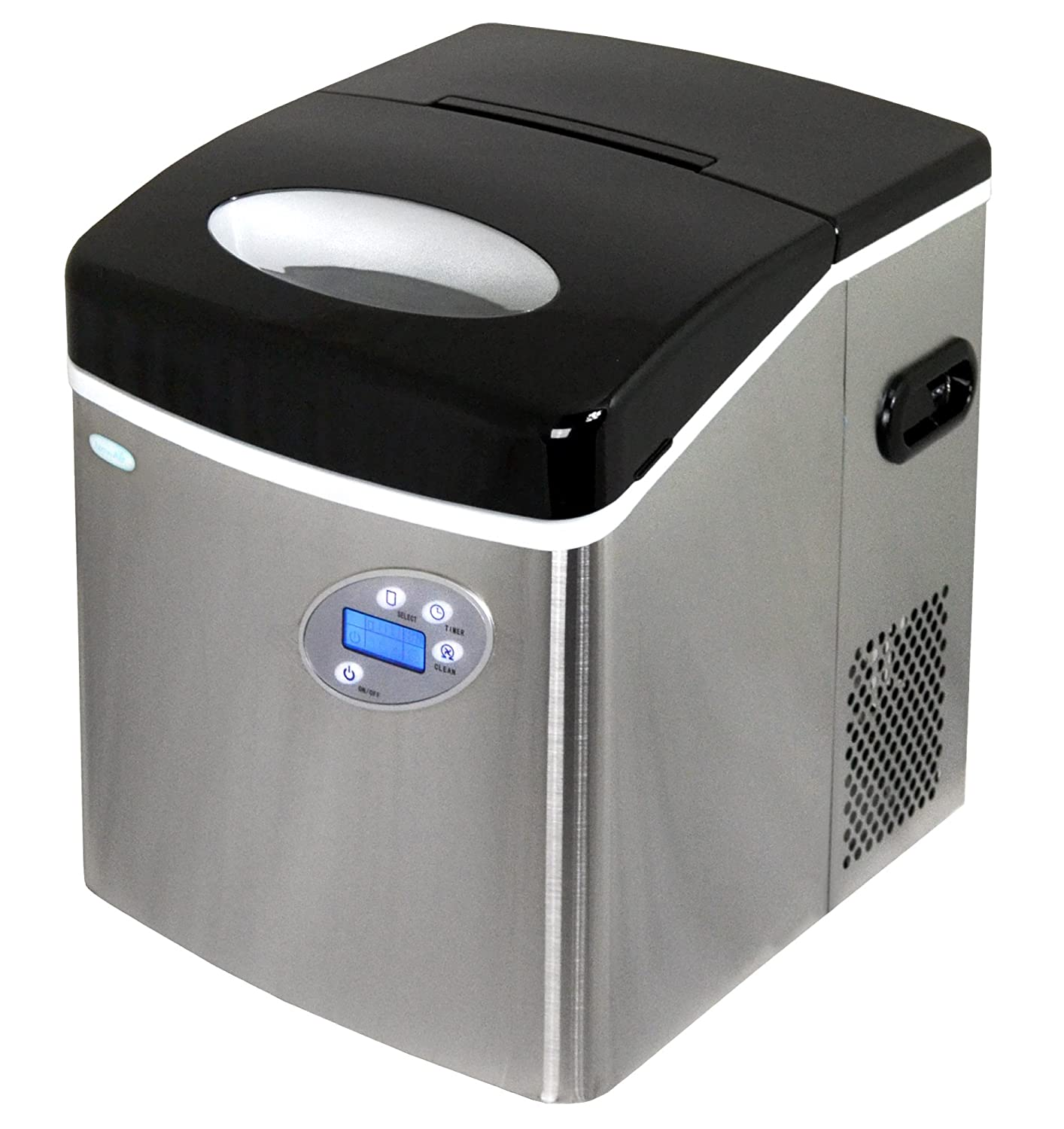 NewAir AI-215SS | Portable, Countertop Ice Maker | 50 Lbs | Stainless Steel