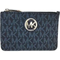 c9fdf6be27d3 Michael Kors Fulton Small Top Zip ID Coinpouch with key Chain