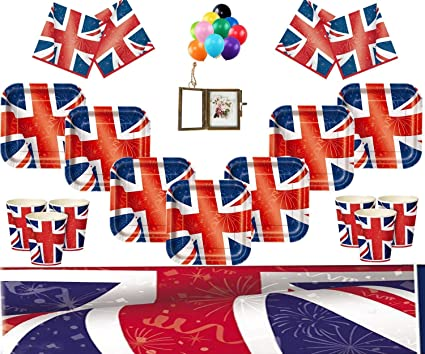 Best of British Paper Party Napkins x 16 Party Supplies