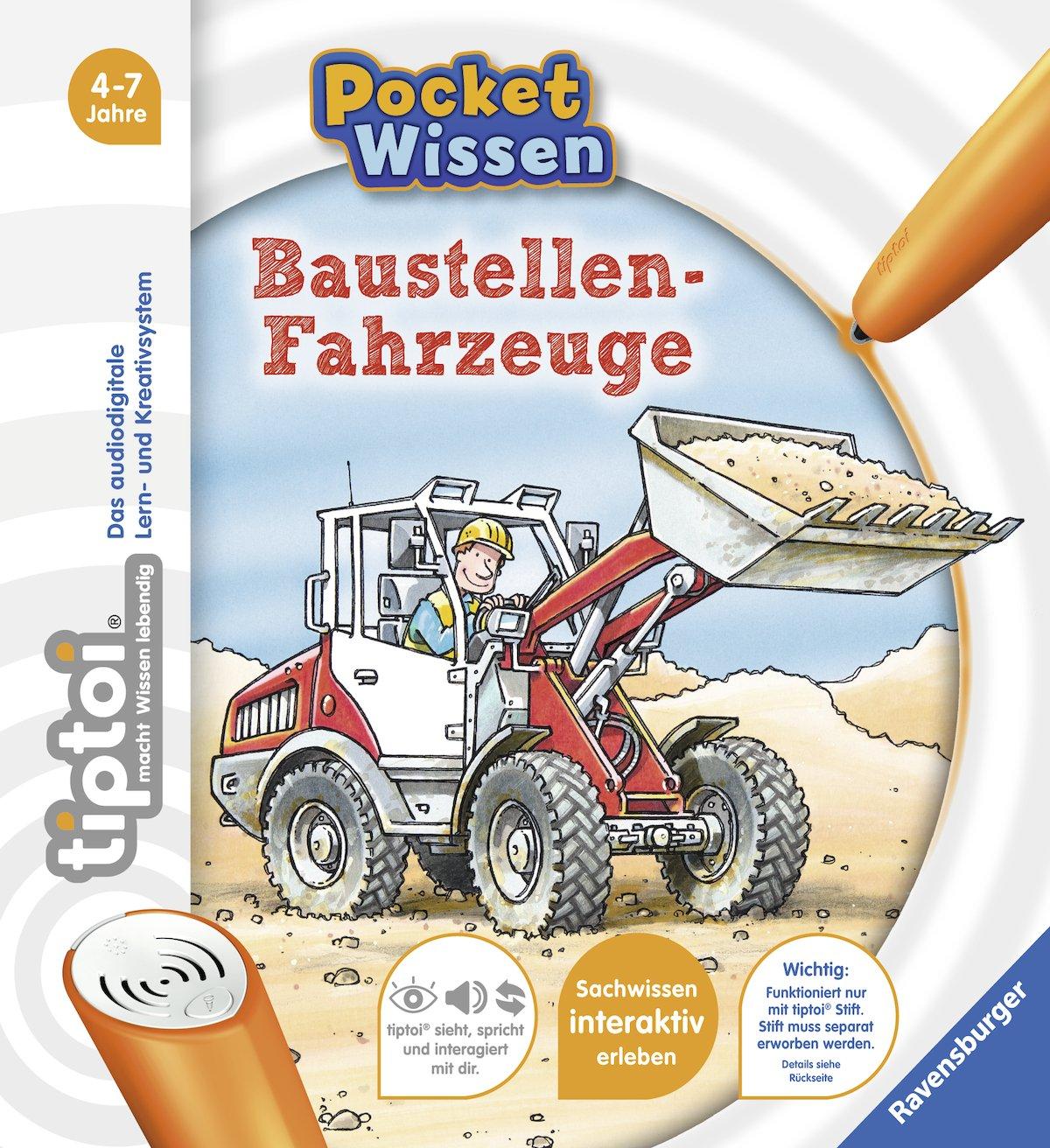 tiptoi Baustellen-Fahrzeuge (tiptoi Pocket Wissen): Amazon.de: Ralph ...
