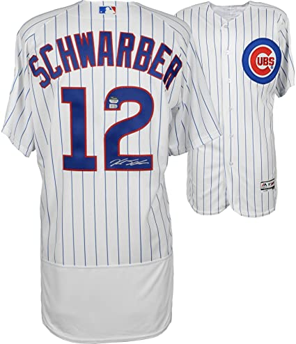 833fc0ba3 Kyle Schwarber Chicago Cubs Autographed White Authentic Jersey - Fanatics  Authentic Certified - Autographed MLB Jerseys
