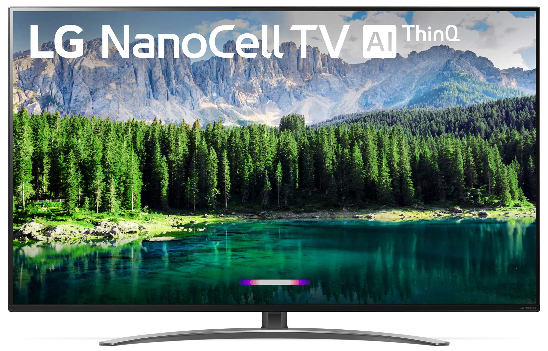 LG 49SM8600PUA Nano 8 Series 49'' 4K Ultra HD Smart LED NanoCell TV (2019) by LG