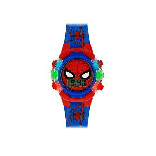 Spiderman Reloj Niños de Digital con Correa en PU SPD4504: Amazon.es: Relojes