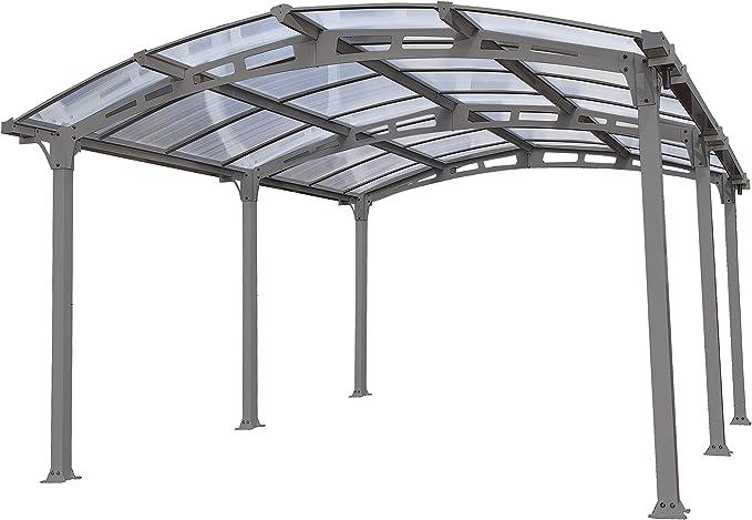 Palram Arcadia 5000 Carport Gris – Robusta Estructura para Uso ...