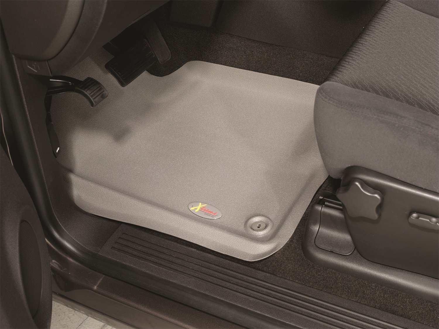 Lund 4010002 Catch-All Xtreme Grey Front Floor Mat Set of 2