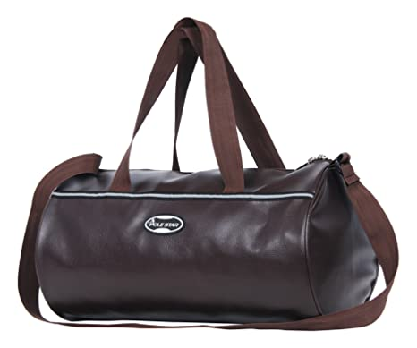 465a05c67331 POLE STAR Unisex Leatherette 26 L Tan Brown Duffel Gym Bag  Amazon.in  Bags