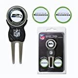 Team Golf NFL Seattle Seahawks Divot Tool with 3