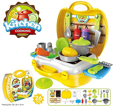 Buy Magnifico Pieces Kitchen Set Pretend Play Toys For Girls With