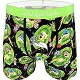 Good Luck Undies Men's Rick and Morty Portals Boxer Brief Underwear