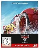 Cars 3: Evolution Steelbook (3D BD+2D BD+Bonusdisc) [3 DVDs] [Blu-ray]
