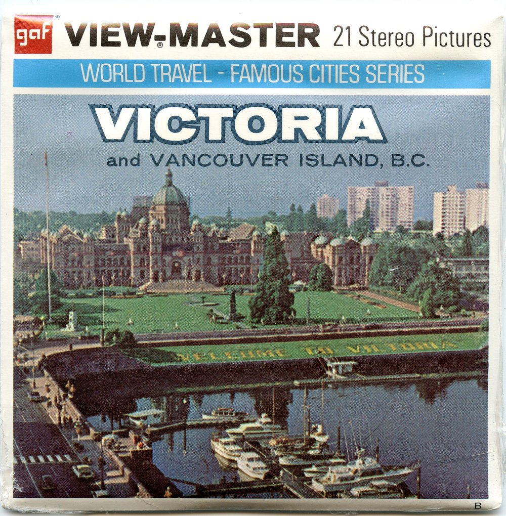 ViewMaster -Victoria and Vancouver Island - 3 vintage Reels - 21 3D images - New and unopened 3Dstereo ViewMaster