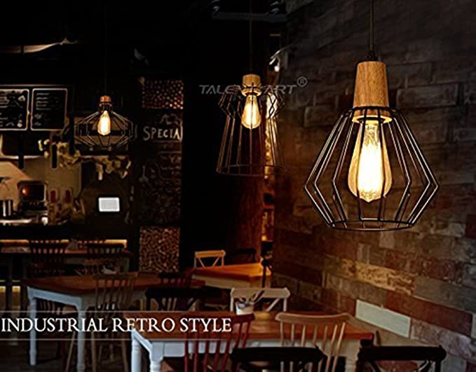 Plafoniere Soffitto Industrial : Asvert edison industriale lampada a sospensione classica