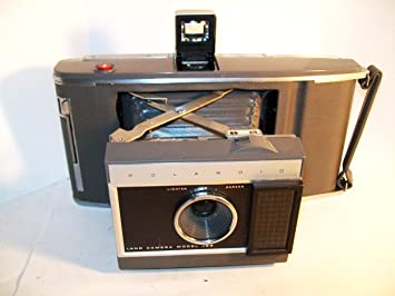 Amazon.com : Vintage Polaroid J66 Folding Land Camera : Camera And ...