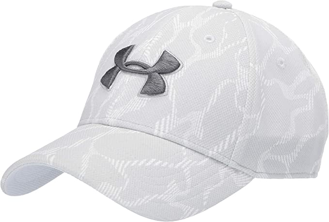 NEW FAST FREE SHIPPING UNDER ARMOUR MENS BLITZING CAP GRAY SIZE MEDIUM//LARGE