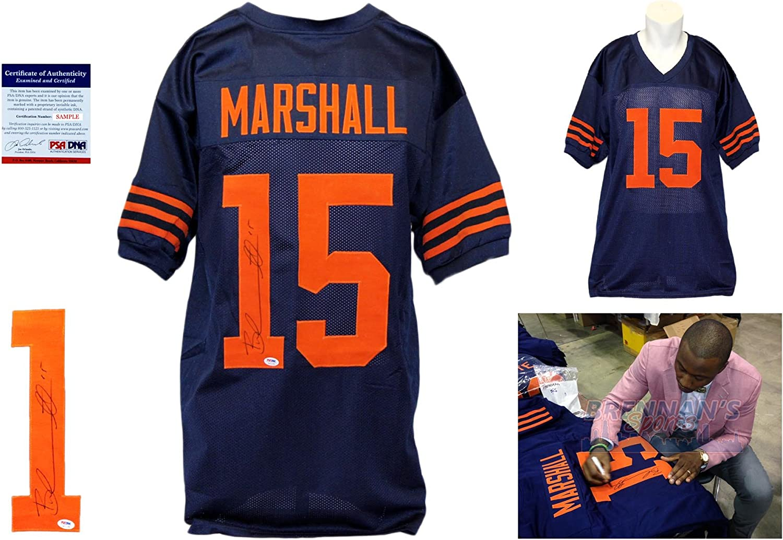 Brandon Marshall Signed Custom Jersey - PSA/DNA - Autographed w ...