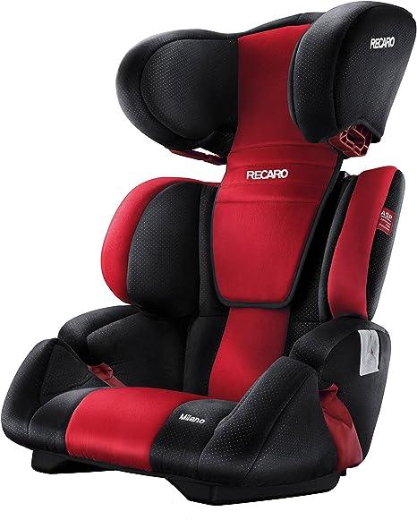Recaro Milano, Silla de coche grupo 2/3, rojo (Ruby): Amazon.es: Bebé