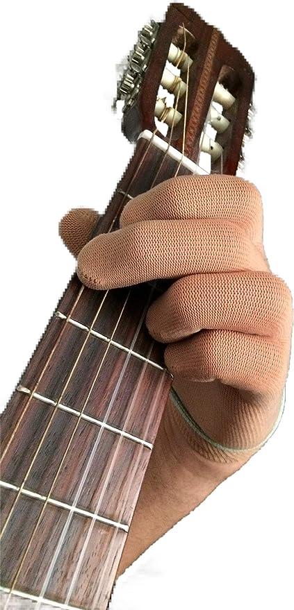 Guante de guitarra Guante de bajo para la punta delos dedos por ...