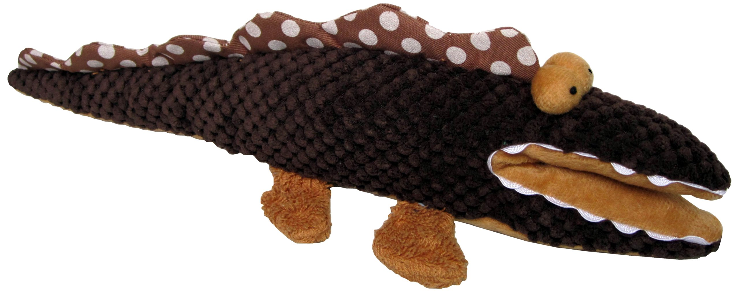 Pet Lou Cute Animal Crocodile Pet Toy, 24-Inch