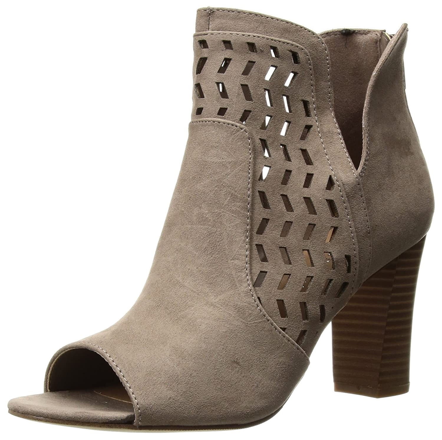 Madden Girl Women's Bright Ankle Boot B0753QDTVC 7 B(M) US|Dark Taupe