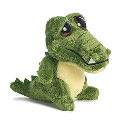 Aurora World Dreamy Eyes Plush Green Gator with Bubble Sound - 17104: Toys & Games