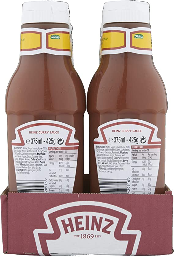 Heinz Classic Curry Sauce 375ml