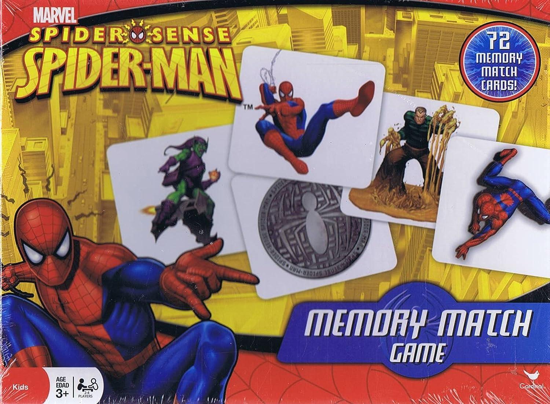 Spider-Man Memory Match Came - 72 Memory Match Cards