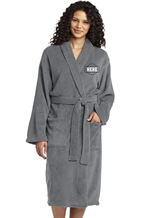 Personalized Embroidered Robes Custom Spa Robe Monogrammed Bathrobes