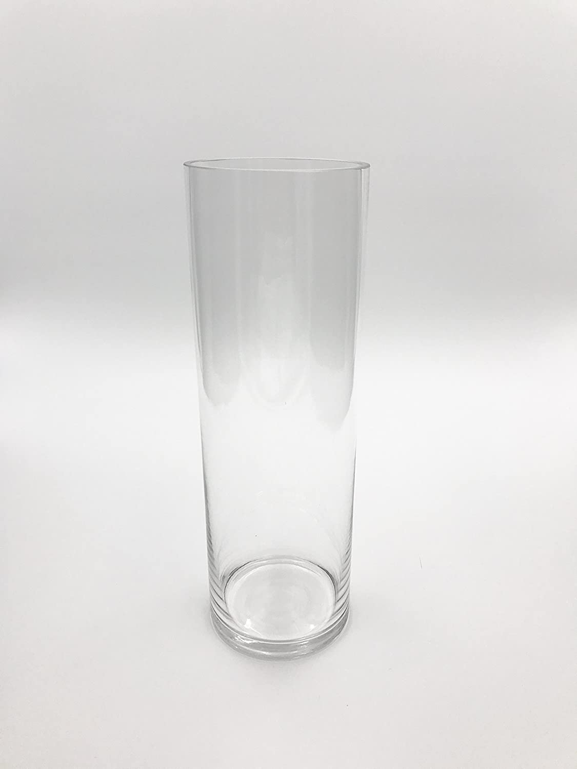 Craft and Party Clear Cylinder Vases 4 Diameter Opening. 12, 8 Sets of 12