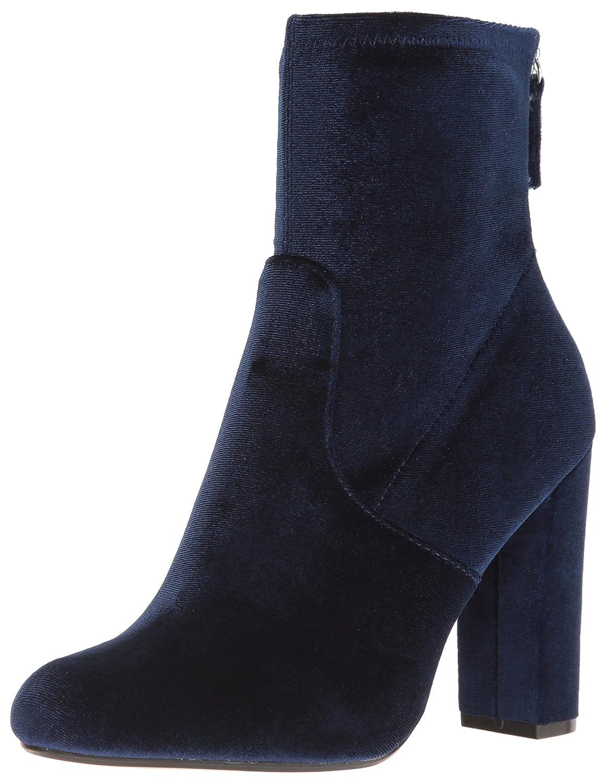 Steve Madden Women's Brisk Ankle Bootie B01M7PK711 7 B(M) US|Navy Velvet
