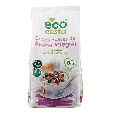 ECOCESTA copos suaves de avena integral bio paquete 1 Kg