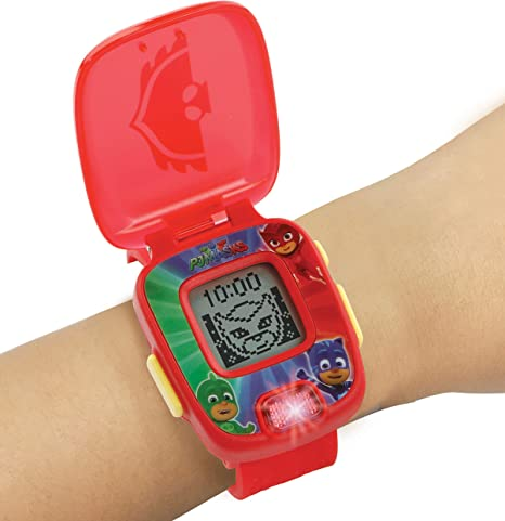 VTech PJ Masks Gekko, Reloj Digital Educativo, Color Verde (80 ...