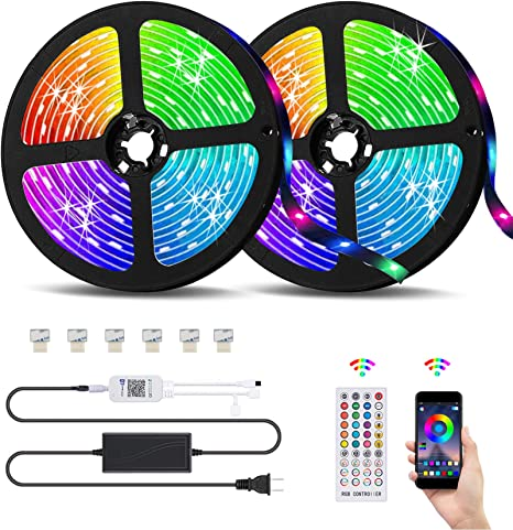 RGB LED Strip Special with Control /& Supply