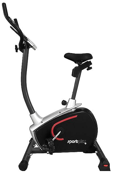 SportPlus Bicicleta Estática, SP-HT-9500-E-B: Amazon.es: Deportes y aire libre