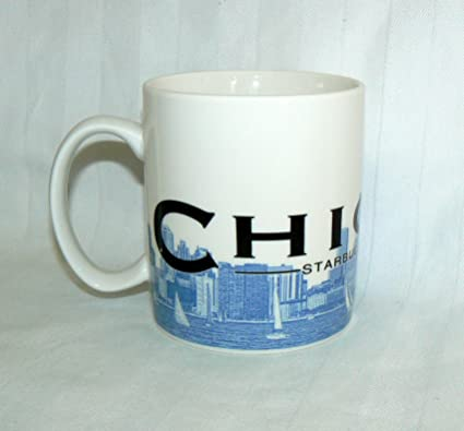 49e7601e8a7 Image Unavailable. Image not available for. Color: Starbucks Coffee 2002  Skyline Mug Chicago ...