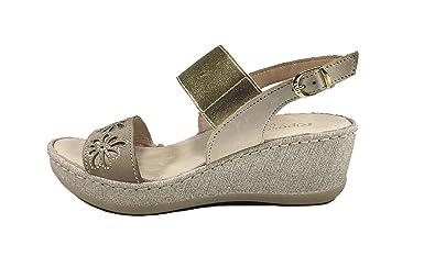 RIPOSELLA Riposella 11233be, sandales femme - beige - Beige, 39 EU