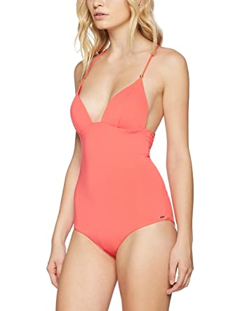 Triumph Pop-Art Flair Opu, Maillot Une Pièce Femme Multicolore (Nectarine RF) 42 (Taille Fabricant: 85C)